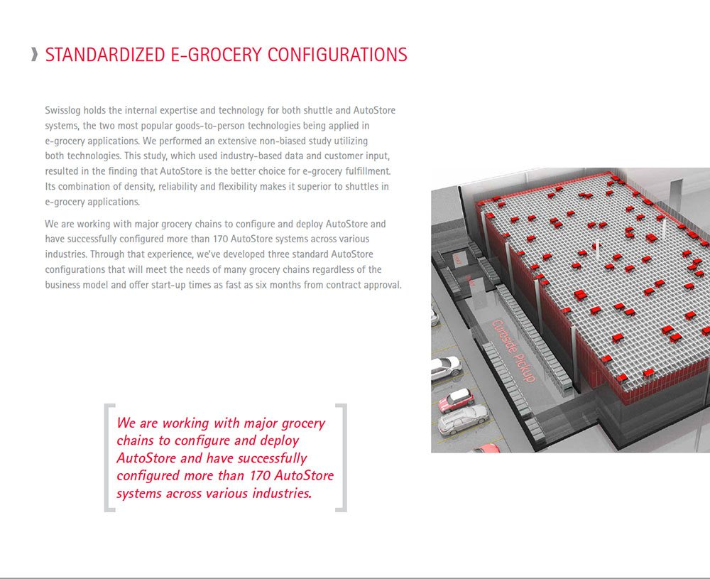 Grocery configuration